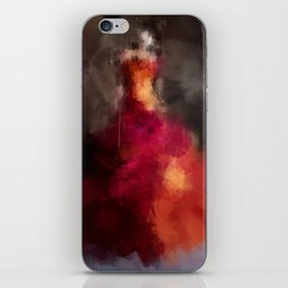 Fire dress iPhone Skin