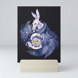 the end and beginning Mini Art Print