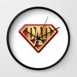 Super Dad Wall Clock