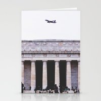 lincoln Stationery Cards featuring Lincoln by Sean Horton