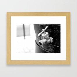 Tap Framed Art Print