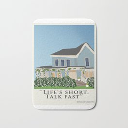 Gilmore house in spring Bath Mat