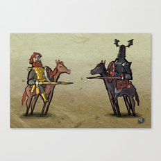 Use Verb on Noun #25: Conquests of Camelot Canvas Print