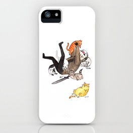 Friday the Purrteenth iPhone Case