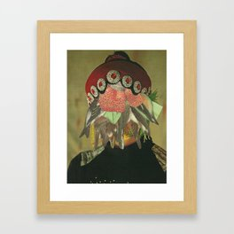 The Vultures stay behind Framed Art Print