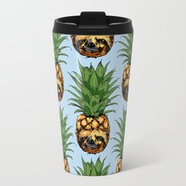 Pineapple Sloth Travel Mug