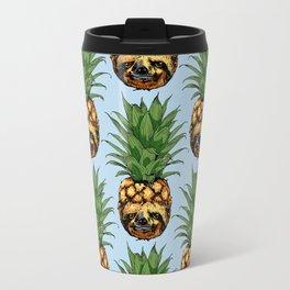 Pineapple Sloth Travel Mug