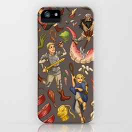 Dungeon Meshi Feast iPhone Case