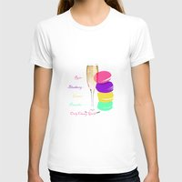 macaron T-shirts featuring only classy girls by vidikay