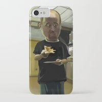 louis ck iPhone & iPod Cases featuring Louis CK Caricature by Richtoon