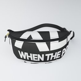 Who do you call When the Police Fanny Pack