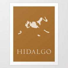 Hidalgo Art Print