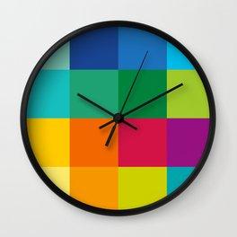 Artist Color Palette Wall Clock