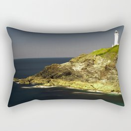 Trevose Head Lighthouse, Cornwall, United Kingdom Rectangular Pillow