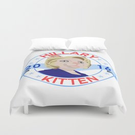 Hillary Kitten 2016 Duvet Cover