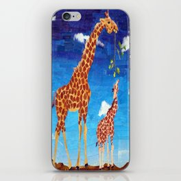 G is for Giraffe iPhone Skin
