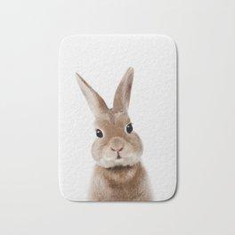 Bunny Print Bath Mat