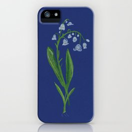 Lily Of The Valley Birth Month May iPhone Case