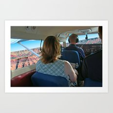Take The Day and Fly - Part I Art Print
