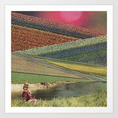 Fragrant Fields Art Print