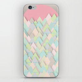 Forest Pastel iPhone Skin