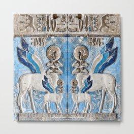 Egyptian Pattern I Metal Print