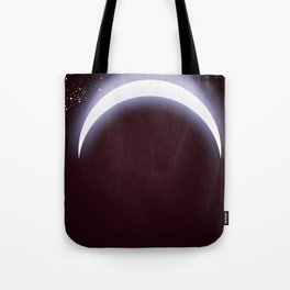One small step for man, one giant leap for mankind space art. Tote Bag