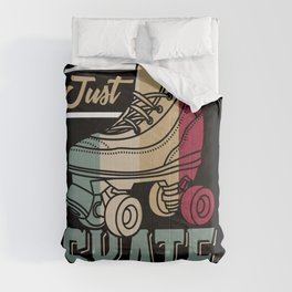 Just Skate | Retro Roller Skating Comforters