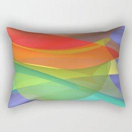 a towel full of colors -15- Rectangular Pillow