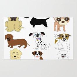 Pet dogs design Rug