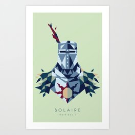Solaire of Astora Art Print