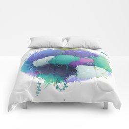 grass sphere Comforters