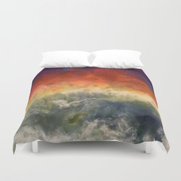 """""""Storm"""" by Laurie Ann Hunter Duvet Cover"""