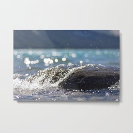 Splash Over Metal Print