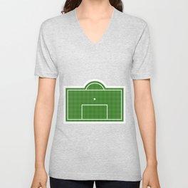 Football Penalty Area Unisex V-Neck