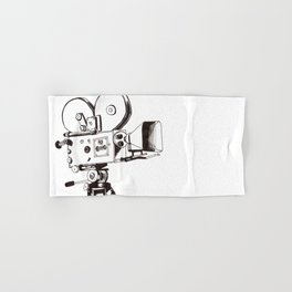 vintage filming Hand & Bath Towel
