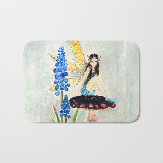 My childhood fantasy. colored Bath Mat