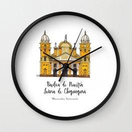 Basilica de Nuestra Senora de Chiquinquira Wall Clock