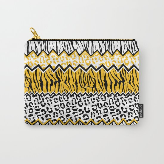 wild stripes pattern Carry-All Pouch