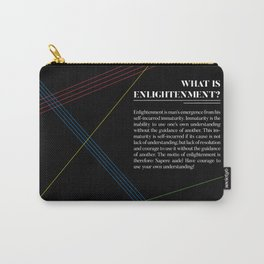 Philosophia I: What is Enlightenment? Carry-All Pouch