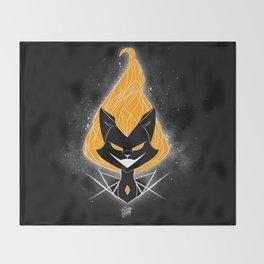 NightmareNetty (Orange) Throw Blanket