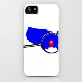 State of Alabama iPhone Case