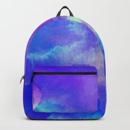 Watercolor abstract art Backpack