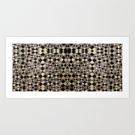 Kuba Cloth Design #4 Art Print