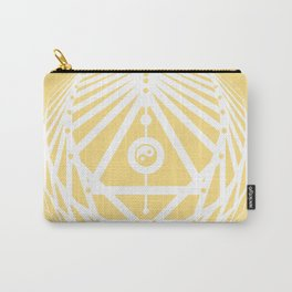 Radiant Abundance (light yellow-white) Carry-All Pouch