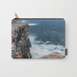 Cliffs off Dún Aonghasa Carry-All Pouch