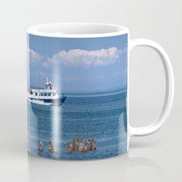 Star Line Ferry Boat going from St. Ignace to Mackinac Island Coffee Mug