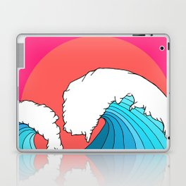 The 3 big waves Laptop & iPad Skin