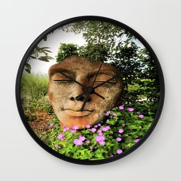dreaming of the summer Wall Clock