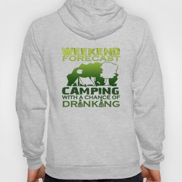 WEEKEND FORECAST CAMPING Hoody